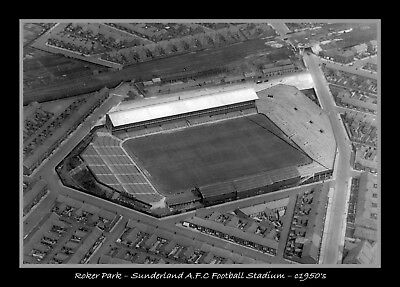 Photograph/7 x 5/Photo/Print/Roker Park/Sunderland/Football/Ground/Stadium/1950