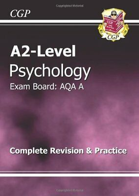 A2-Level Psychology AQA A Complete Revision & Practice,CGP Books
