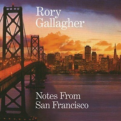 Rory Gallagher - Notes From San Francisco - New Cd Album