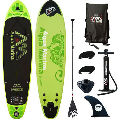 Aqua Marina Breeze SUP Set Allround 2018 INFLATABLE Stand Up Paddle Board