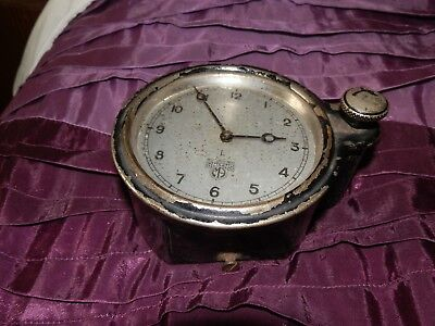 Smiths vintage car clock for repair..complete needing serv 8 day.. .FREE UK POST