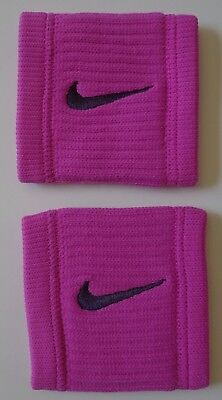 Nike Dri-Fit Reveal Wristbands Hyper Magenta / Grand Purple Mens Women's OSFM