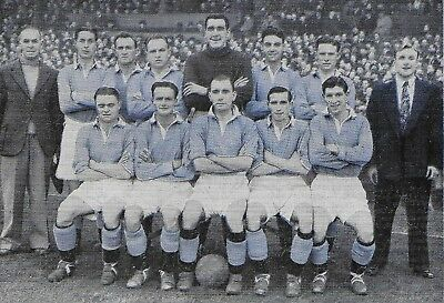 Manchester City Football Team Photo>1948-49 Season