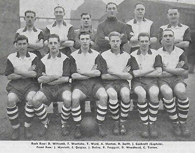 Sheffield Wednesday Football Team Photo>1947-48 Season