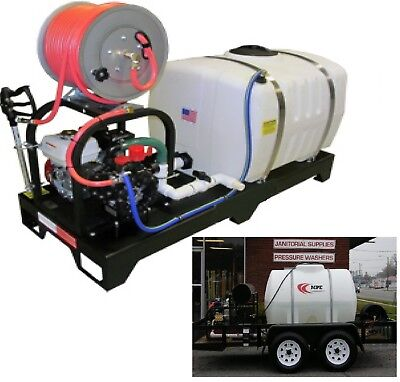 Pressure Washing Trailer Pressure Wash Trailer Soft Wash Mounted Pressure Washer