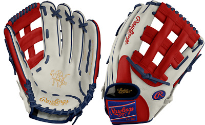 "Rawlings PRO3039−6 12.75"" Heart Of The Hide Patriot Outfield Baseball Glove New"