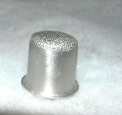 Collector Pewter with Etched Bird Thimble - Sewing ~ collectible