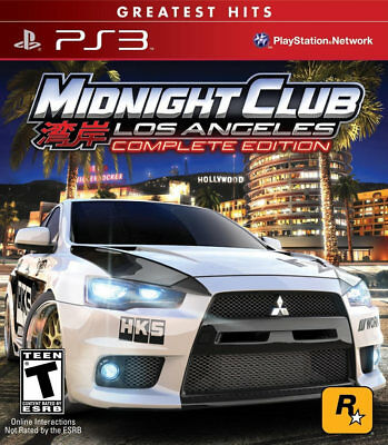 Midnight Club: Los Angeles Complete Edition GH PS3 New Playstation 3