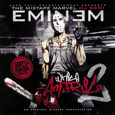 DJ Semi Eminem White America Pt. 2 Best of Slim Shady Eminem Marshall Mathers