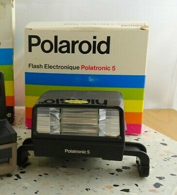 Vintage  Polaroid PolaSonic AutoFocus 4000 Land Camera with Flash Like New