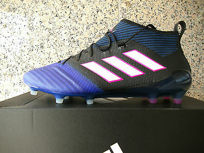 huge selection of afeb1 589c7 adidas ACE 17.1 Primeknit FG Schwarz - Blau Gr. 42 (BB4315) NEU