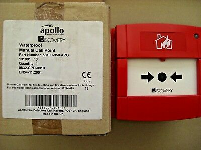 £48 Apollo 58100-951 APO XP95 Discovery Waterproof Call Point 58100-950 APO