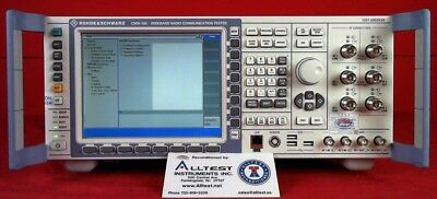 Rohde & Schwarz CMW500 Wideband Radio Communication Tester 127302