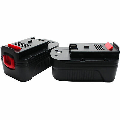 2-Pack 18V NICD Battery for Black & Decker HPB18-OPE, NS118, XTC183BK, EPC18CAK