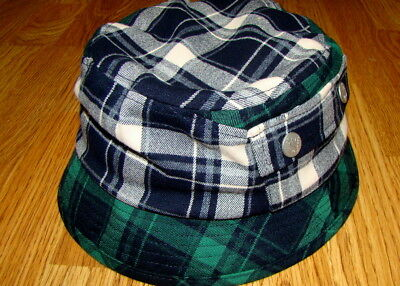 c3659daf83a52c NAVY KANGOL PLAID On Plaid Bucket Hat Style K4243ST - $38.25 | PicClick