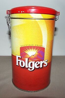 Folger's Coffee Metal Canister