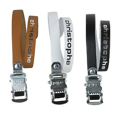 Zefal Vintage Pedal Straps Christophe Pair in Various Colours Length 14 9//16in