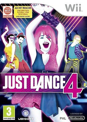 Nintendo Wii game - Just Dance 4 UK boxed