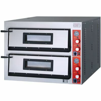 Ggf Pizza Oven with a Chamber, Vollschamott, 12 Kw, 1010 x 850 x 750mm ( Wxdxh )