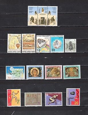 Cyprus - Lot Of Early Unused MH/OG Stamps {CY38}