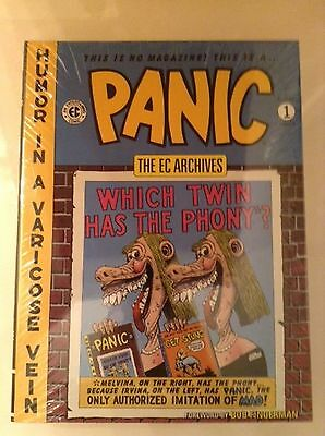 The EC Archives Panic Volume 1 Graphic Novel Book- Dark Horse Archives - Sealed