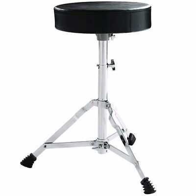 Drum Stool Throne Seat Full Size Padded Top Height Adjustable 450mm - 640mm T1D