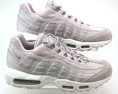 WOMENS NIKE AIR Max 95 Pink Leather Look Retro Sports