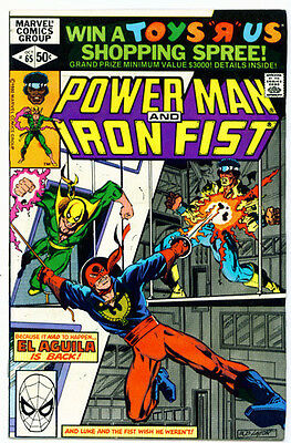 |•.•| POWER MAN AND IRON FIST • Issue 65 • Marvel Comics
