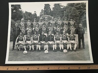 Superb Leicester City Original Press Photograph team picture 1983/84