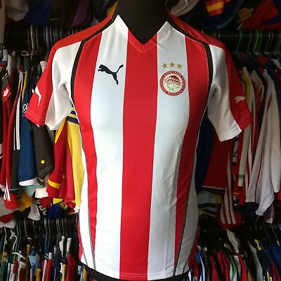 Olympiakos 2005 Home Football Shirt With Tags Puma Jersey Size Adult S