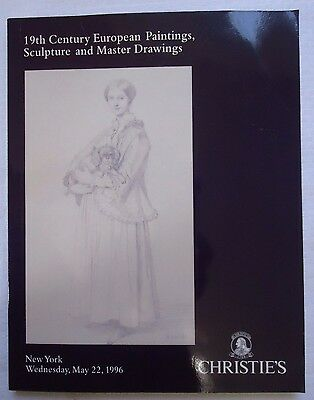 19Th Century European Painting Christie's Sale #8404 May 1996 Softcover Catalog