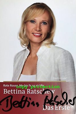 "1554 Autogramm Foto, Bettina Ratschew, Rote Rosen ""Esther Hanstedt"""