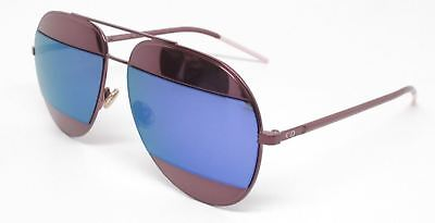 da41ee2a7e2b Authentic Christian Dior Split 1 0P1W TE Burgundy Sunglasses