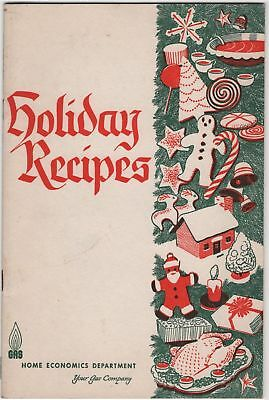 Holiday Recipes Pittsburgh Group Gas WV Cumberland Binghamton Vintage Christmas