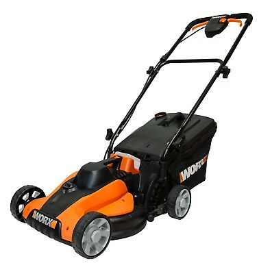 WORX WG776E.9 40V MAX 33cm Lawn Mower, (battery & charger sold separately)