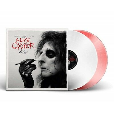 Alice Cooper - A Paranormal Evening at The Olympia (2LP Red/White Vinyl) NEU!