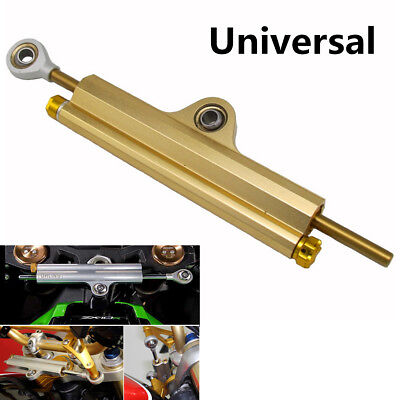 Universal Durable Motorcycle CNC Aluminum Steering Dampers Stabilizer And Box