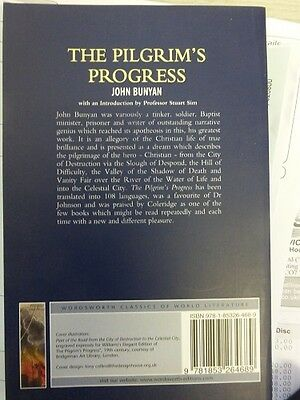 The Pilgrims Progress / John Bunyan 9781853264689 Wordsworth Classics Literature