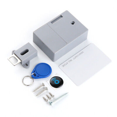 Battery RFID Cabinet Drawer Lock Hidden Digital Lock without Perforate Hole
