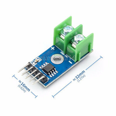 K Type Thermoelement Temperature sensor Module MAX6675 SPI Interface For Arduino