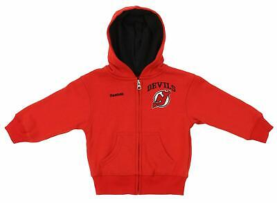 Reebok NHL Toddlers New Jersey Devils Pledge Full-zip Hoodie, Red