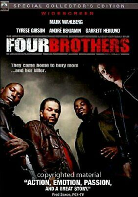 Four Brothers (DVD, 2005, Widescreen, Special Collector's Edition) NEW