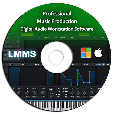 Pro Music Production-MultiTrack Audio Editing-Mixing-Recording DAW Software-Beat