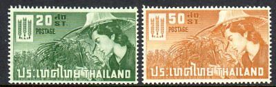 1963 THAILAND FREEDOM FROM HUNGER SG469-470 mint unhinged
