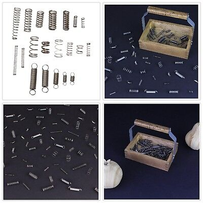 Spring Assortment Kit Compression Extension Springs Stainless Steel (84-Pack)