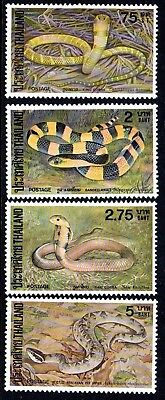 1981 THAILAND SNAKES SG1083-1086 mint unhinged