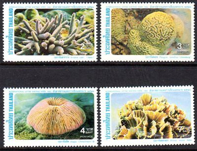 1983 THAILAND CORAL SG1149-1152 mint unhinged