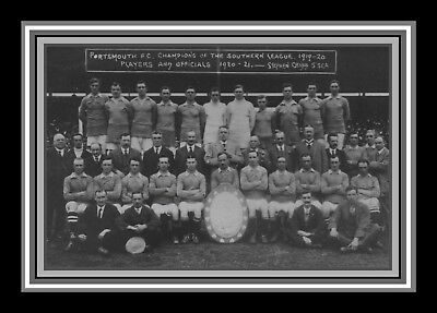Collectors/Photograph/Print/Portsmouth/Pompey/Team Photo/1920/21 Southern League