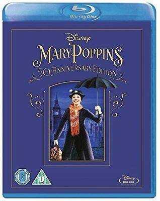 Mary Poppins 50th Anniversary Edition [Blu-ray] [Region Free] -  CD JGVG The