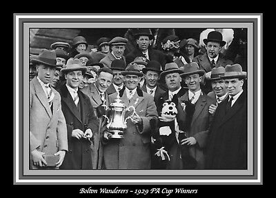 Collectors/Photograph/Print/7 x 5 Photo/Bolton Wanderers 1929 FA Cup Winners